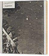 1731 Johann Scheuchzer Star Magnitudes Wood Print