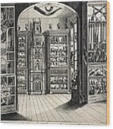 1788 Richard Greene's Museum At Lichfield Wood Print