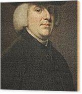 1789 William Paley Portrait Naturalist Wood Print by Paul D Stewart