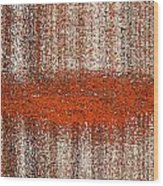 Color Rust Wood Print