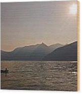 Lake Maggiore Wood Print