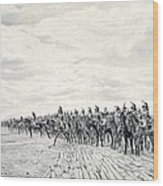 1805 Napoleon At Austerlitz, 1908 Wood Print