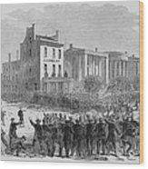 1866 Race Riot In New Orleans Was One Wood Print