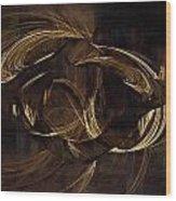 Atlas Anatomy Art Wood Print