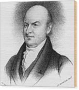 John Quincy Adams Wood Print