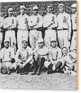 1902 Philadelphia Athletics Wood Print