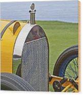 1914 Mercer Model 45 Race Car Grille Wood Print
