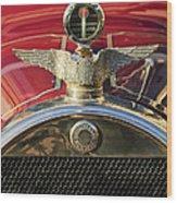 1915 Brewster-knight Model 41 Landaulet Hood Ornament 2 Wood Print