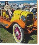 1915 Speedster Wood Print