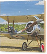 1916 Sopwith Pup Biplane On Airfield Canvas Photo Poster Print Wood Print