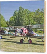 1917 Nieuport 28c.1 World War One Antique Fighter Biplane Canvas Poster Print Wood Print