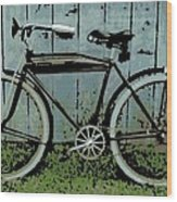 1919 Indian Bike Wood Print