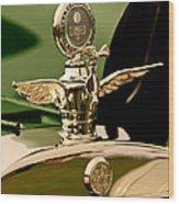 1919 Mcfarlan Type 125 Touring Motometer - Hood Ornament Wood Print