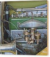 1919 Stutz Bearcat Special Engine Wood Print