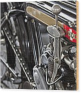 1923 Condor Motorcycle Wood Print