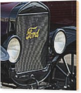 1925 Ford Model T Coupe Grille Wood Print