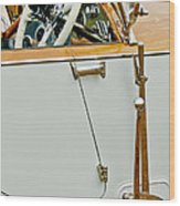 1925 Rolls-royce Phantom I Barker Sports Torpedo Tourer Steering Wheel Wood Print