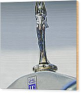 1928 Isotta Fraschini Tipo 8as Landaulet Hood Ornament Wood Print