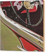 1929 Graham-paige Model 837 Lebaron Sport Phaeton Steering Wheel Wood Print