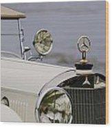 1929 Mercedes-benz S Tourer Hood Ornament Wood Print