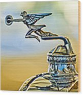 1929 Packard Hood Ornament Wood Print