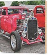 1930 Ford   7779 Wood Print