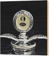1930 Ford Hood Ornament  Wood Print