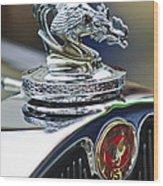 1931 American Austin Roadster Hood Ornament Wood Print