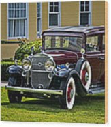 1931 Cadillac V12 Wood Print