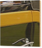 1931 Chrysler Cg Imperial Waterhouse Convertible Victoria Door Handle Wood Print