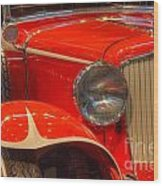 1931 Cord Automobile Wood Print