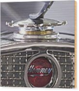 1931 Henney 2-passenger Convertible Hood Ornament Wood Print