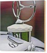 1932 Austro Daimler Hood Ornament Wood Print