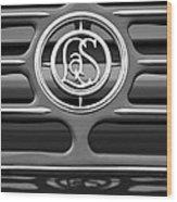 1932 Cadillac Lasalle Emblem 2 Wood Print