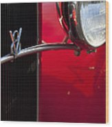 1932 Ford Roadster Grille Wood Print