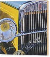 1933 Fiat Balilla Grille Wood Print