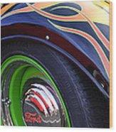 1933 Ford Wheel Wood Print