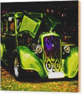 1933 Plymouth Hot Rod Wood Print by Phil 'motography' Clark