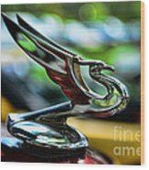 1934 Chevrolet Flying Eagle Hood Ornament - 2 Wood Print