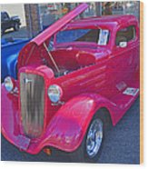 1934 Chevy Coupe Wood Print
