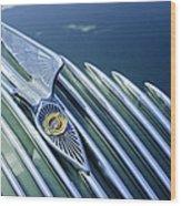 1934 Chrysler Airflow Hood Ornament Wood Print