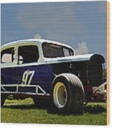 1934 Ford Stock Car Wood Print