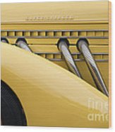 1935 Auburn 851 Sc Speedster Detail - D008160 Wood Print by Daniel Dempster