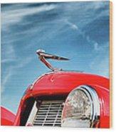 1935 Auburn Speedster  6892 Wood Print