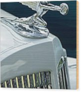 1935 Packard Sedan Hood Ornament Wood Print