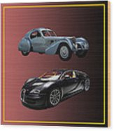 1936 Bugatti 2010 Bugatti Wood Print