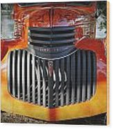 1936 Chevrolet Pickup Truck Wood Print