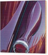 1936 Ford Phaeton Taillight Wood Print