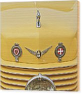 1937 Cord 812 Sc Convertible Phaeton Sedan Grille Emblems Wood Print