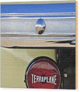 1937 Hudson Terraplane Pickup Truck Taillight Wood Print